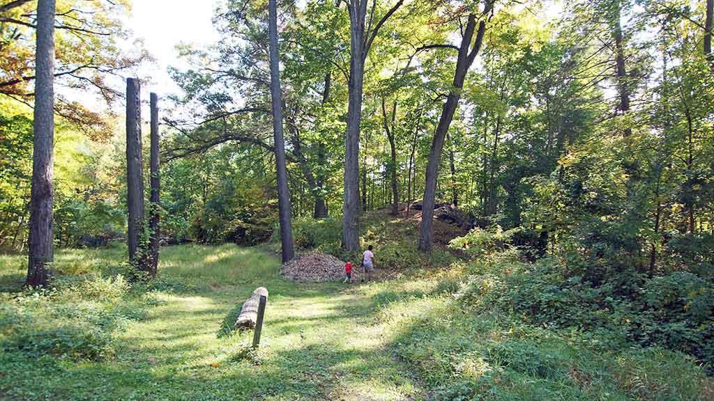 Visitors at Springside Walking Trails